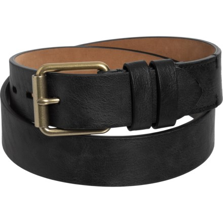 efc036180b Cole Haan 35mm Cut-Edge No-Stitch Double Keeper Belt - Leather (For