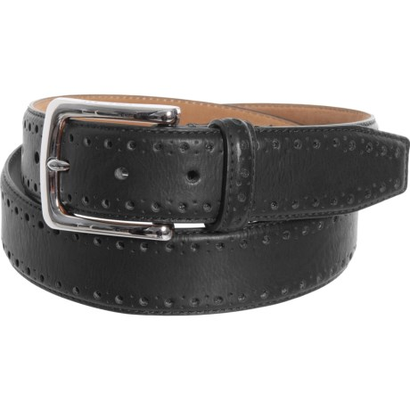 90c529974a4 Cole Haan 35mm Perforated Trim Dress Belt (For Men) - Save 74%
