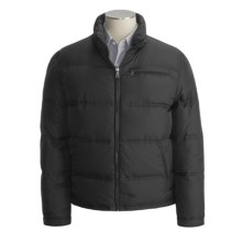 Cole Haan Down Coat - Hidden Hood (For Men) in Black - Closeouts