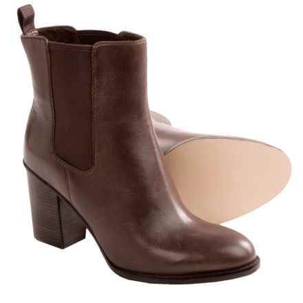 Cole Haan Draven Short Boots- Leather (For Women) in Chestnut - Closeouts