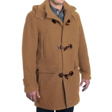 Cole Haan Duffle Coat - Italian Wool Blend (For Men) in Camel - Closeouts