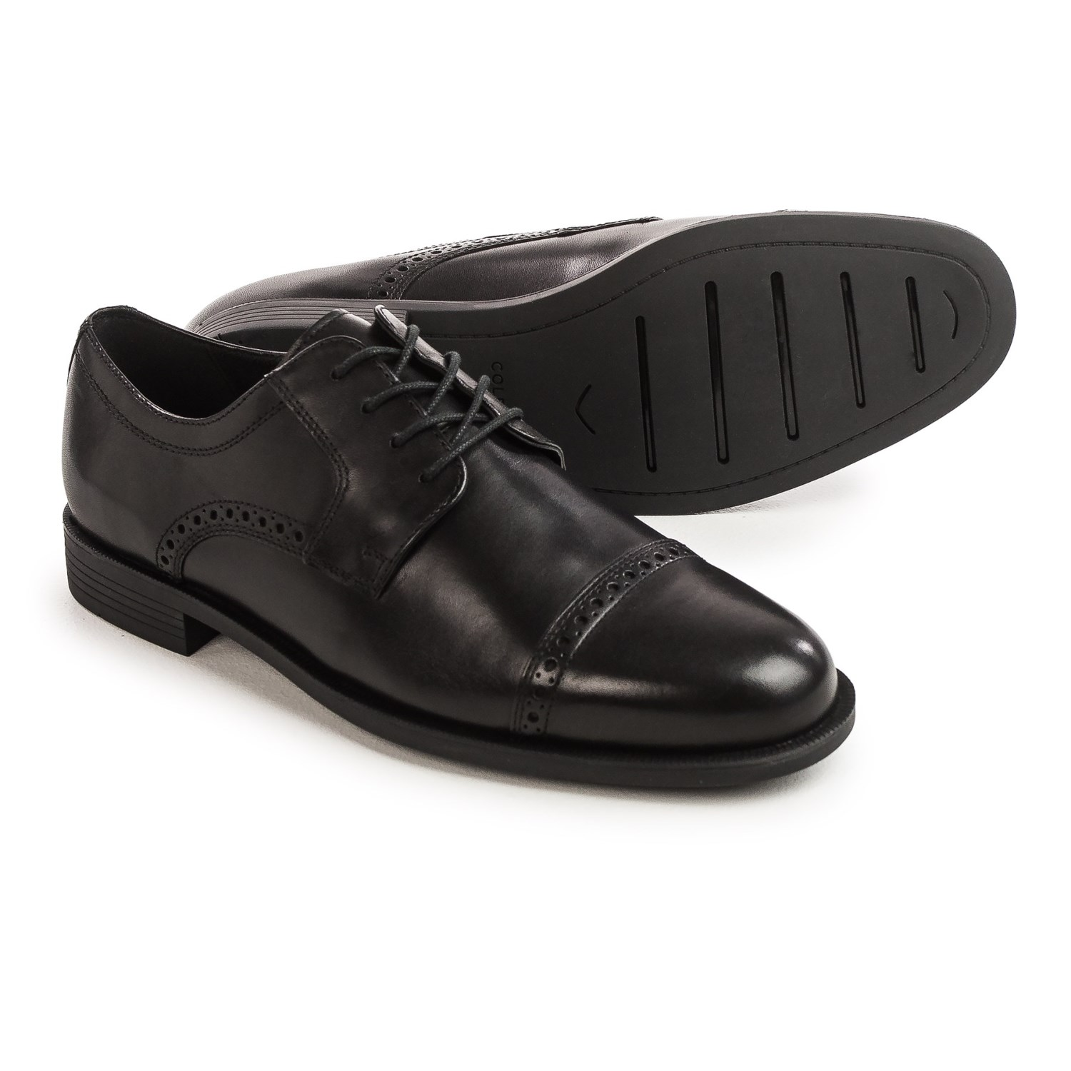 Cole Haan Dustin Oxford Shoes - Leather (For Men) in Black