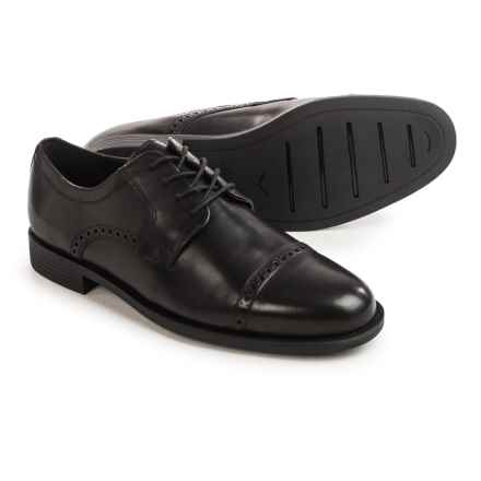 Cole Haan Dustin Oxford Shoes Leather For Men In Black Closeouts