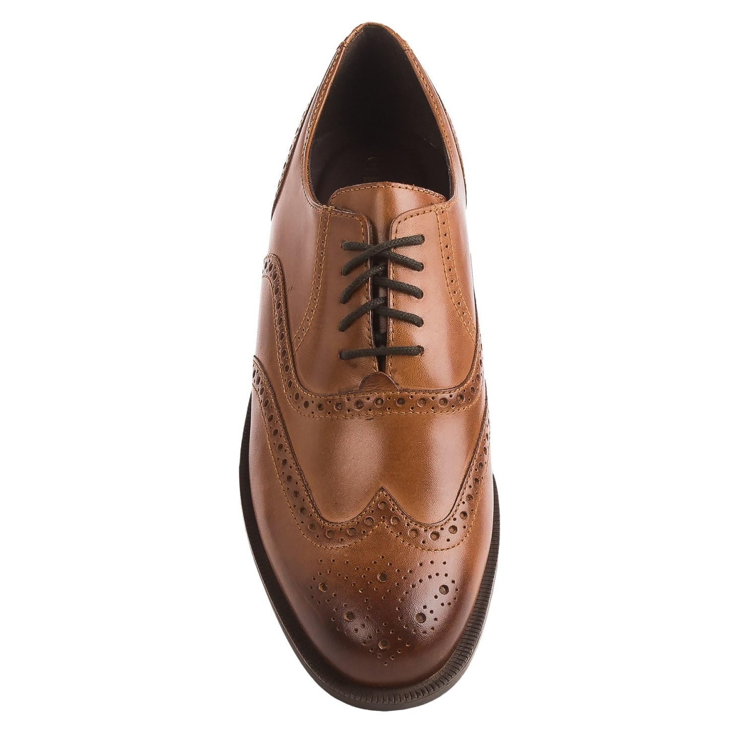 d969ce0e665817 New Cole Haan Men Dustin Wingtip Oxford II 11.5 (D) British Tan ...