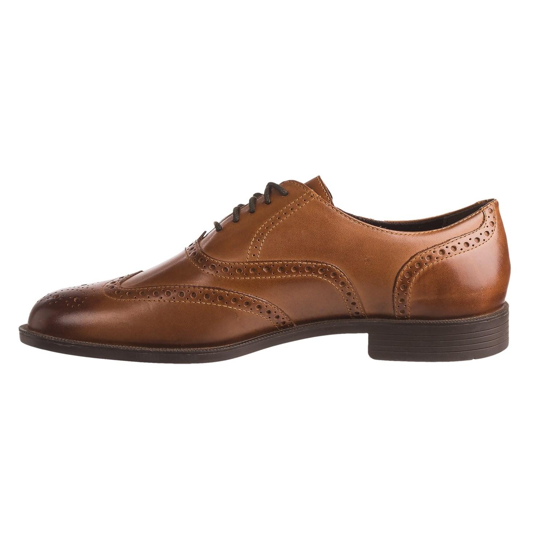 Men Black Cole Haan Wingtip Shoes