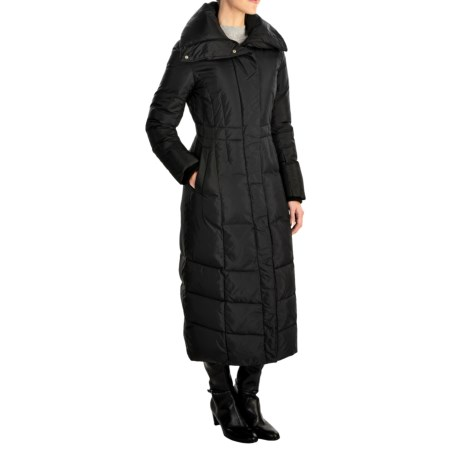 Cole Haan Essential Long Maxi Down Coat (For Women) in Black