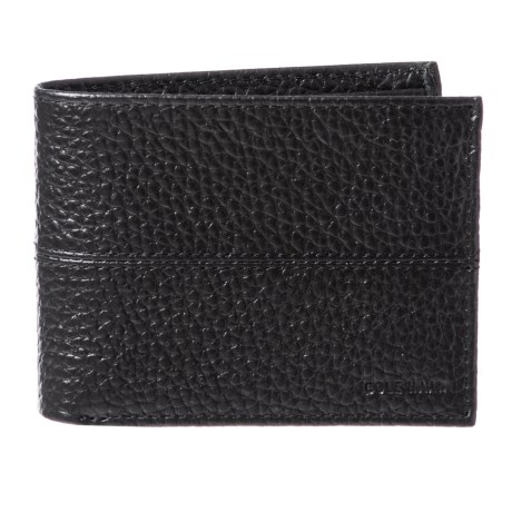 17280ba4b7c40 Cole Haan Full-Grain Leather Bifold Wallet (For Men) - Save 74%