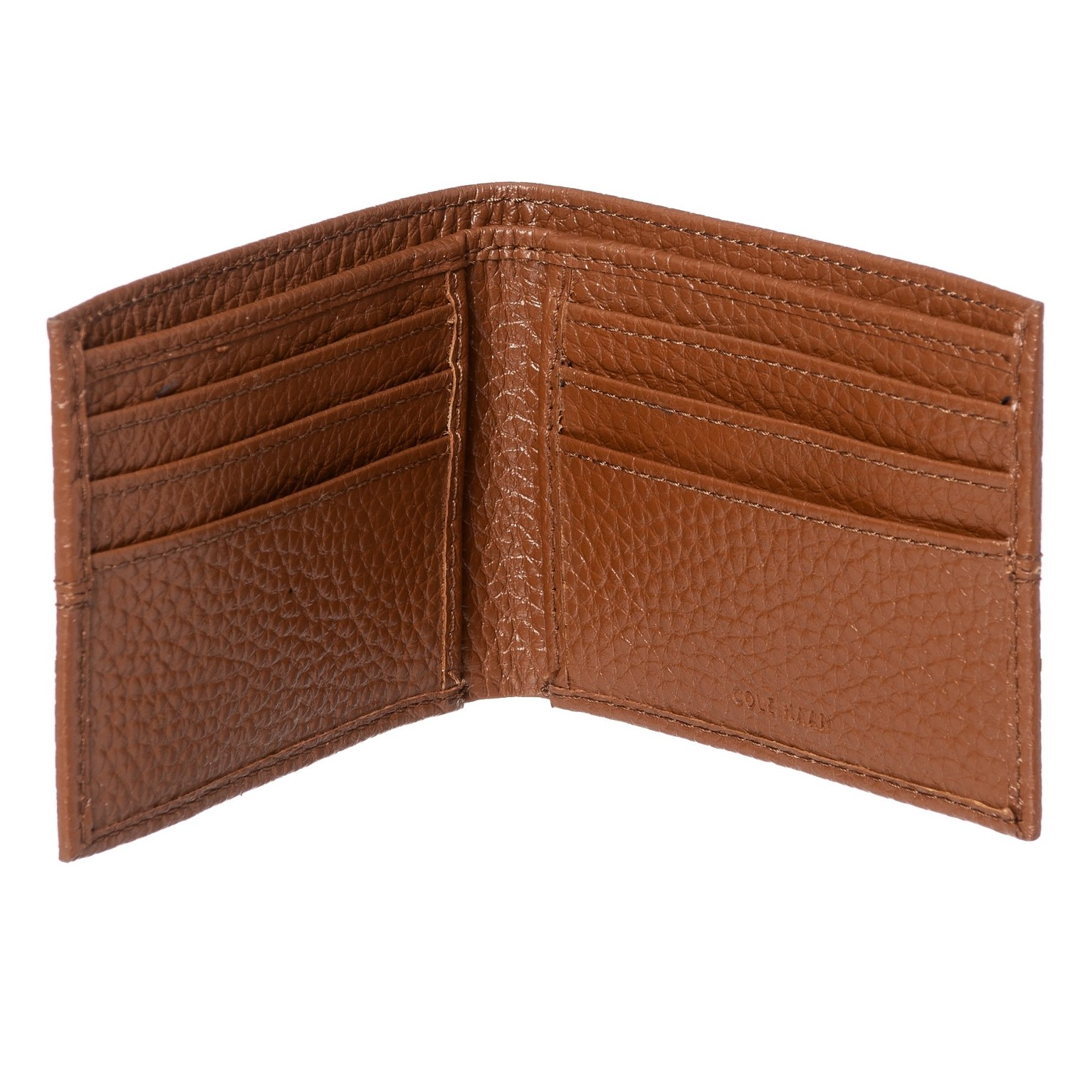 cc706f35d94 cole haan full grain leather bifold wallet for men