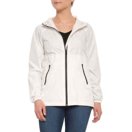 Cole Haan Grand.OS Rain Jacket (For Women) in White - Closeouts