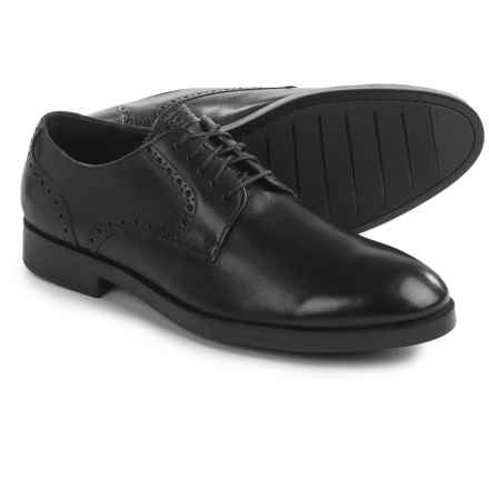 Cole Haan Henry Grand Derby Oxford Shoes - Leather (For Men) in Black - Closeouts