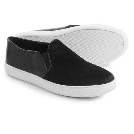 Cole Haan Jennica II Slip-On Shoes - Leather (For Women) in Black Calf - Closeouts