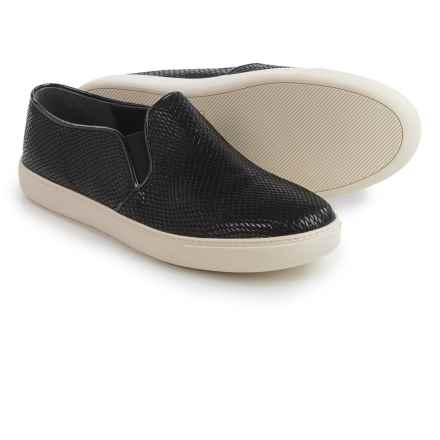 Cole Haan Jennica Shoes - Leather, Slip-Ons (For Women) in Black Snake - Closeouts