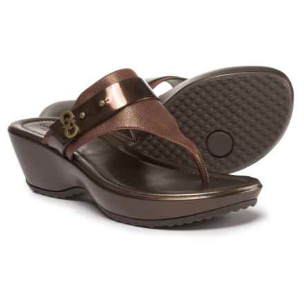 Cole Haan Margate Wedge II Sandals (For Women) in New Bronze - Closeouts