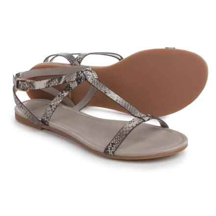 Cole Haan Murley Sandals - Leather (For Women) in Snake Print - Closeouts