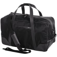 Cole Haan Nylon and Leather Duffel Bag in Black - Closeouts