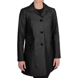Cole Haan Outerwear Topper Coat (For Women) in Marine