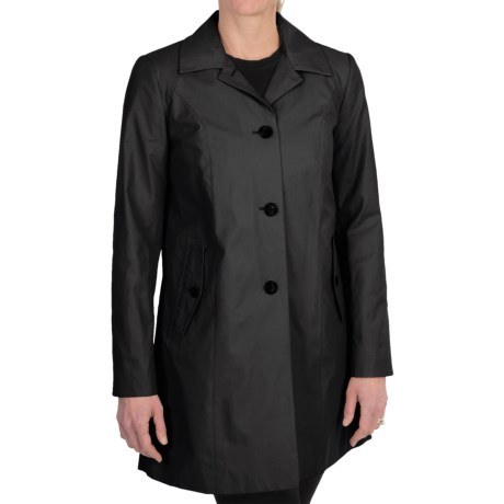 Cole Haan Outerwear Topper Coat (For Women) in Stone