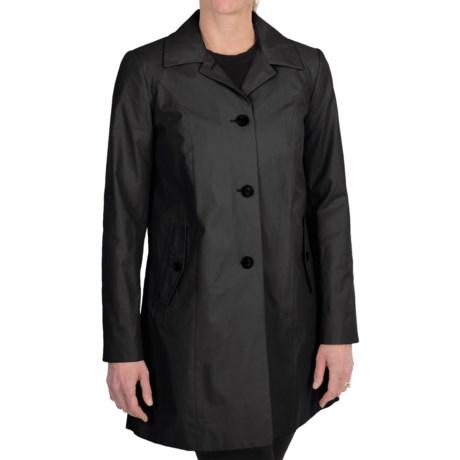 Cole Haan Outerwear Topper Coat (For Women) in Black