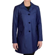 Cole Haan Outerwear Topper Coat (For Women) in Marine - Closeouts