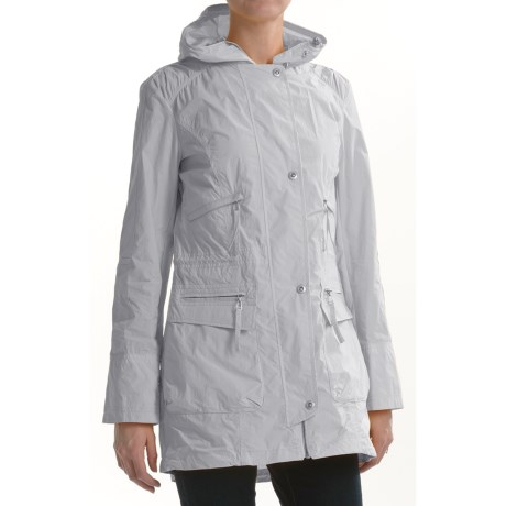 Cole Haan Outerwear Washed Nautical Jacket (For Women) in Pearl
