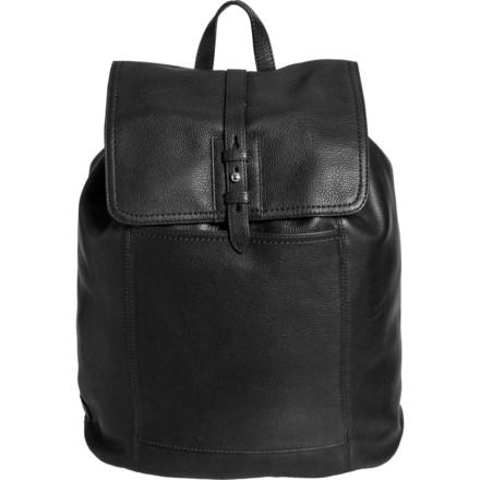 b127df3944c Cole Haan Pebble Leather Backpack (For Women) in Black Nickel - Overstock