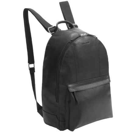 Cole Haan Pebbled Leather Backpack in Black - Closeouts