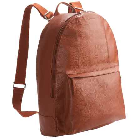 Cole Haan Pebbled Leather Backpack in Tan - Closeouts