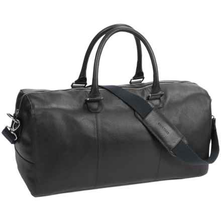 Cole Haan Pebbled Leather Duffel Bag in Black - Closeouts