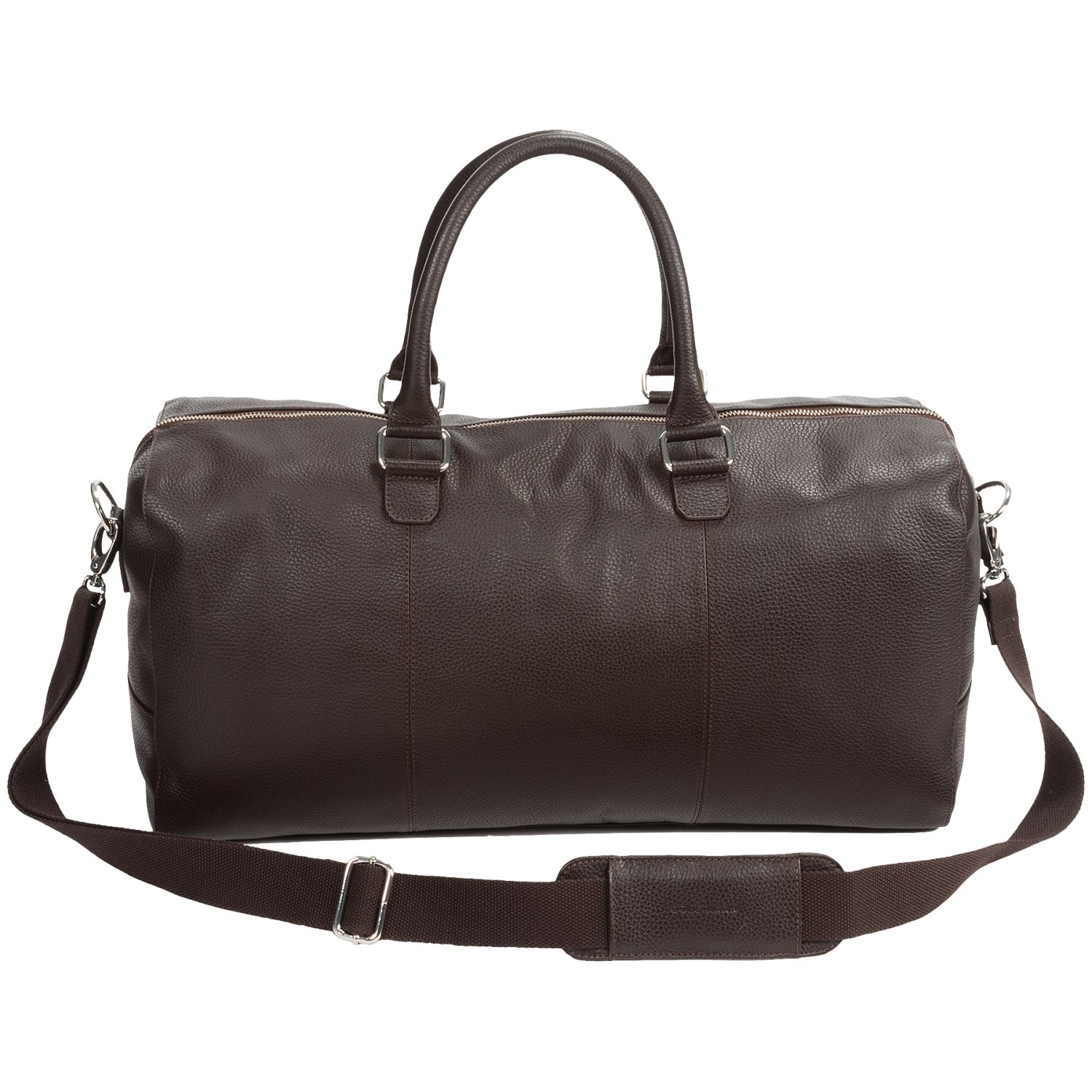 cole haan pebbled leather duffel bag