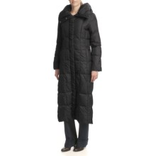 Cole Haan Pillow Collar Coat - Down (For Women) in Black - Closeouts
