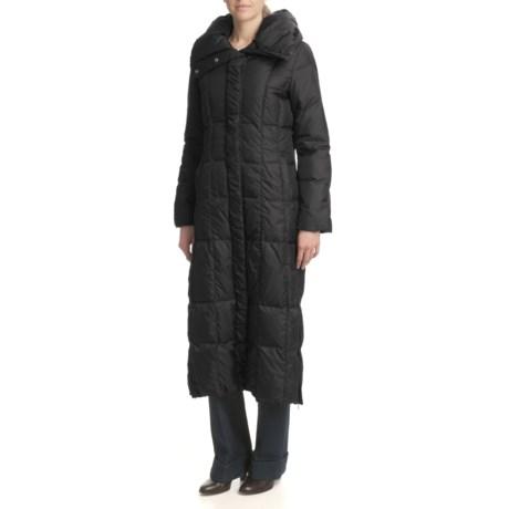Cole Haan Pillow Collar Coat - Down (For Women) in Black
