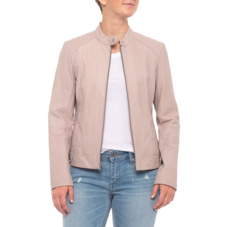 Cole Haan Quilted Shoulder Jacket For Women Save 62