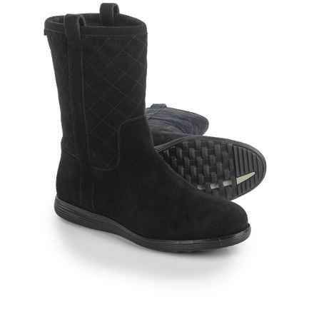 Cole Haan Roper Grand Suede Boots - Waterproof, Insulated (For Women) in Black Suede - Closeouts