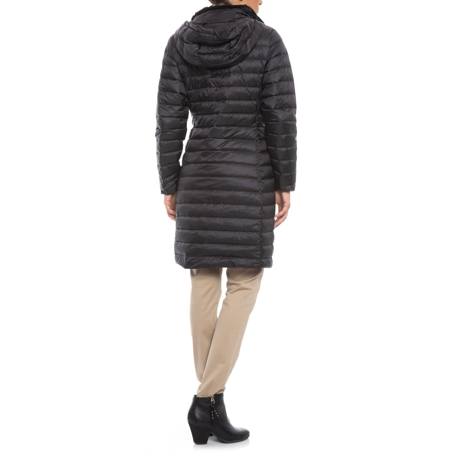 4473d4eee944 Cole Haan Signature Faux-Fur-Lined Long Down Coat (For Women) - Save 46%