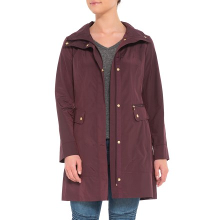 5ce0af24b9 Cole Haan Signature Packable Coat (For Women) in Eggplant - Closeouts