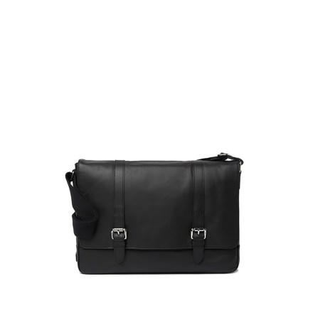 df6b259fed0 Cole Haan Smooth Messenger Bag - Leather (For Women) in Black - Overstock