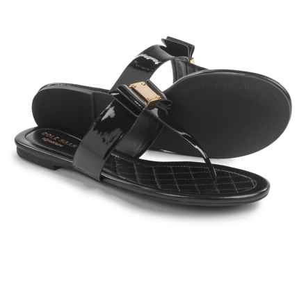 Cole Haan Tali Sandals - Leather (For Women) in Black - Closeouts