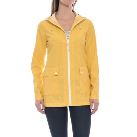 Cole Haan Water-Resistant Anorak Jacket (For Women) in Spectra Yellow