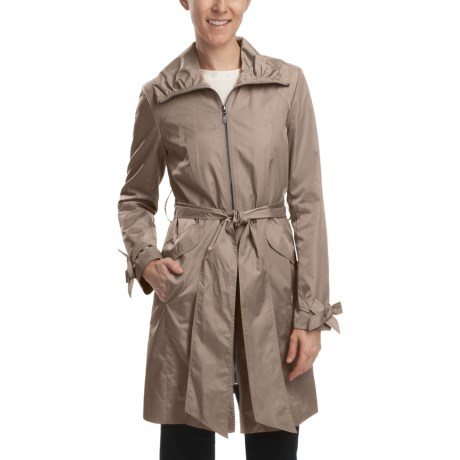 Cole Haan Water-Resistant City Jacket (For Women) in Gold
