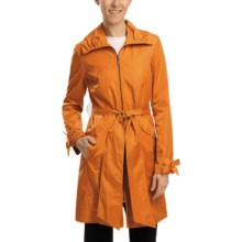 Cole Haan Water-Resistant City Jacket (For Women) in Tangerine - Closeouts
