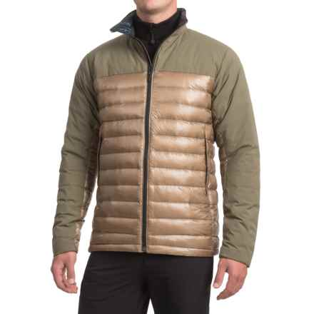 Cole Haan ZeroGrand® Commuter Down Jacket (For Men) in Desert Taupe - Closeouts