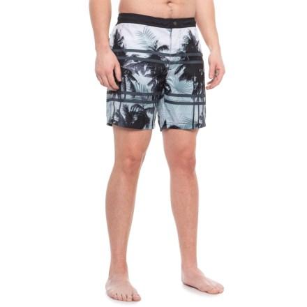 34f9fecd4e8e9 Cole Palms Swim Trunks - UPF 30+ (For Men) in Black - Closeouts