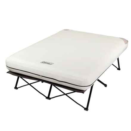 Coleman Airbed Cot Air Mattress - Queen, Inflatable in See Photo - Closeouts