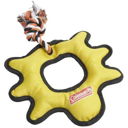 Coleman Beetle Outdoor Dog Toy in Yellow - Closeouts