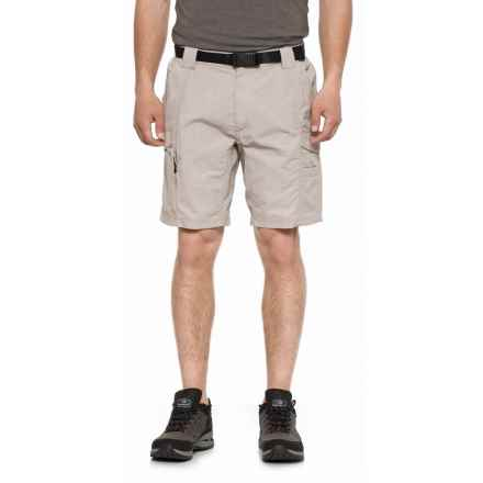 Coleman Belted Hiking Shorts - UPF 50 (For Men) in Cement - Closeouts