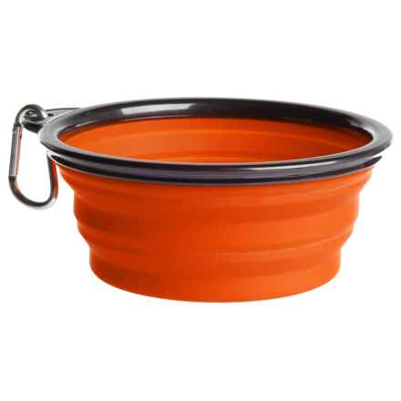 Coleman Collapsible Dog Bowl - 12 fl.oz. in Orange - Closeouts