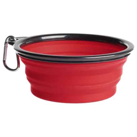Coleman Collapsible Dog Bowl - 12 fl.oz. in Red - Closeouts