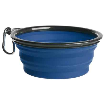 Coleman Collapsible Dog Bowl - 33 fl.oz. in Blue - Closeouts