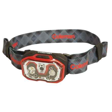 Coleman Conquer LED Headlamp - 250 Lumens in Red/Black - Closeouts