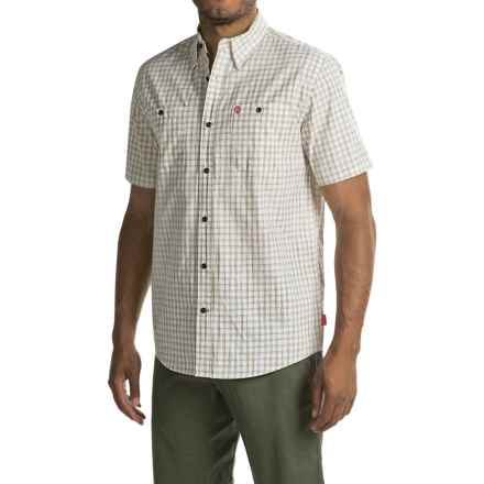 Coleman Cotton Guide Shirt - UPF 30, Short Sleeve (For Men) in Stone - Closeouts